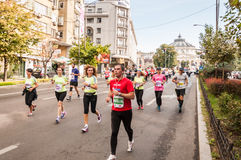 Marathon 2015 d'International de Bucarest Photographie stock libre de droits