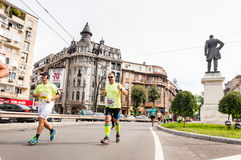 Marathon 2015 d'International de Bucarest Images stock