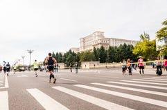 Marathon 2015 d'International de Bucarest images libres de droits