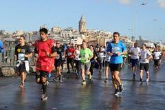 38 Marathon d'Istanbul Image libre de droits