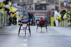38 Marathon d'Istanbul Photo libre de droits