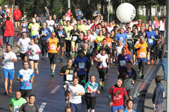 38 Marathon d'Istanbul Photos stock
