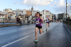 38 Marathon d'Istanbul Photographie stock