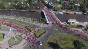 Marathon dans la ville de Tigre, Buenos Aires image stock