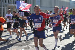 Marathon de 2010 NYC Photos libres de droits