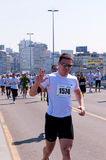 Marathon de Belgrade Image libre de droits