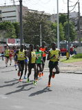 Marathon 2014 de Belgrade Images stock