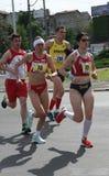 Marathon 2014 de Belgrade Photo libre de droits