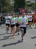 Marathon 2014 de Belgrade Photos libres de droits