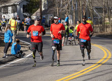 Marathon 2014 de Boston Photographie stock libre de droits