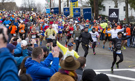 Marathon 2015 de Boston Images libres de droits