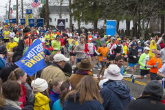 Marathon 2015 de Boston Photographie stock libre de droits