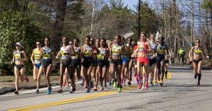 Marathon 2016 de Boston Images libres de droits