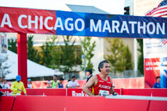 Marathon 2013 de Chicago Photographie stock libre de droits