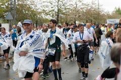 Marathon 2013 de Copenhague Photos libres de droits