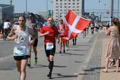 MARATHON 2018 DE COPENHAGUE 42 ILIOMETER Photo stock