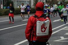 Marathon de corps d'ambulance photo stock