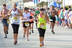 Marathon 2013 de course Photos libres de droits