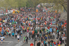 Marathon de Duesseldorf Images libres de droits