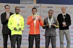 Marathon de Duesseldorf Image libre de droits