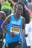 Marathon de Josphat Kiprop Kiptis - de Prague Images libres de droits