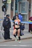 Marathon de Kate Pallardy Runner NYC Photo stock