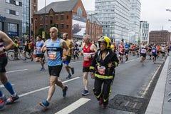 Marathon 2017 de Liverpool Images libres de droits