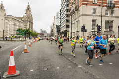 Marathon 2017 de Liverpool Photographie stock