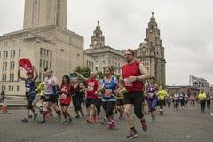 Marathon 2017 de Liverpool Photo stock