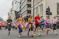 Marathon 2017 de Liverpool Photo libre de droits