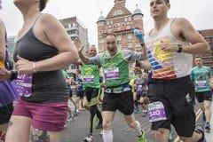 Marathon 2017 de Liverpool Photos libres de droits
