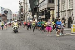 Marathon 2017 de Liverpool Image libre de droits