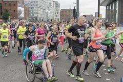 Marathon 2017 de Liverpool Photos stock