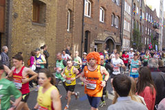 Marathon 2013 de Londres Photo libre de droits