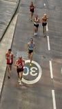 marathon de Londres Photos libres de droits