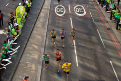 marathon de Londres Photo libre de droits