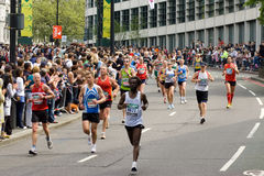 marathon de Londres Photos stock