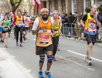 Marathon de Londres d'argent de Vierge 24 avril 2016 Image stock