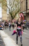 Marathon de Londres d'argent de Vierge, le 24 avril 2016 Images libres de droits
