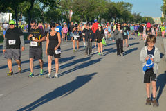 Marathon 2015 de Manitoba Photo stock