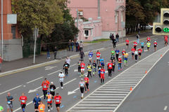 Marathon de Moscou Photos stock