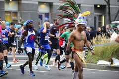 Marathon de 2017 NYC photo stock