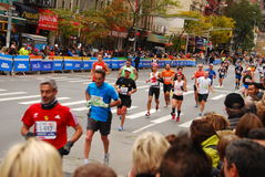 Marathon 2013 de NYC Images stock
