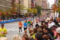 Marathon 2013 de NYC Images stock