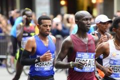 Marathon de 2017 NYC - chefs de l'élite des hommes Image libre de droits
