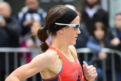Marathon de 2017 NYC - femmes Image stock