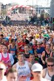 Marathon 2013 de Vierge de Londres Image libre de droits