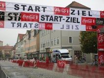 Marathon de ville à Weimar image stock