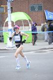 Marathon Deena Kastor Elite Runners NYC Stockbilder