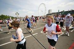2013, marathon des Anglais 10km Londres Images libres de droits